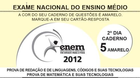 ENEM 2012_2º DIA